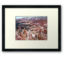 Bryce Canyon National Park Framed Print
