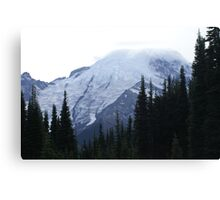 Mt Rainier from the North Canvas Print