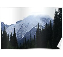 Mt Rainier from the North Poster
