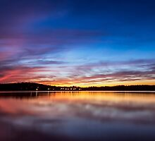 Lake Lanier Sunset I by Bernd F. Laeschke