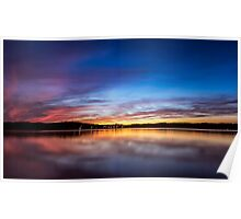Lake Lanier Sunset I Poster