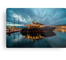 Now thats what I call a Gin Palace .!  Metal Print