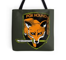 Fox Hound Special Force Group Tote Bag