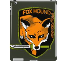Fox Hound Special Force Group iPad Case/Skin