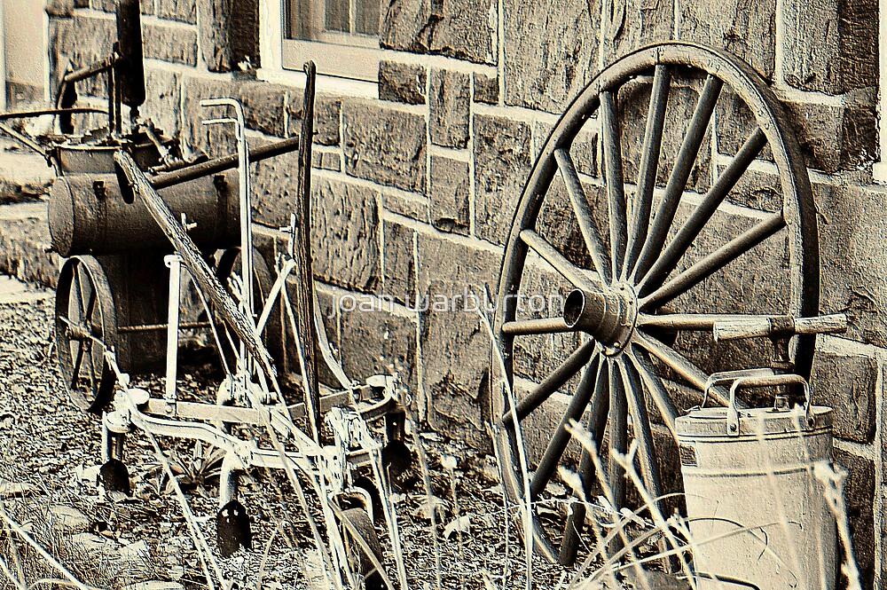 Old Farm Tools in Paramus by joan warburton