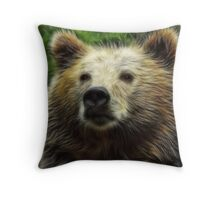 Pappa Bear Throw Pillow