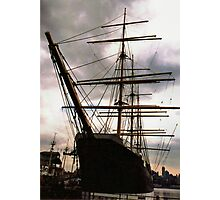 """""""The Peking"""" at South Street Seaport - New York City Photographic Print"""