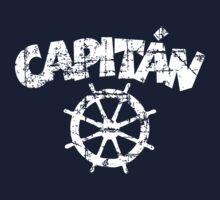 Capitan Wheel Vintage White T-Shirt