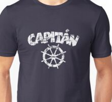 Capitan Wheel Vintage White Unisex T-Shirt