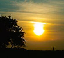 Sunset by MariaVikerkaar