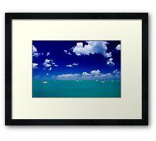Boatie's Paradise Framed Print