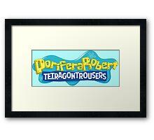 PoriferaRobert TetragonTrousers Framed Print