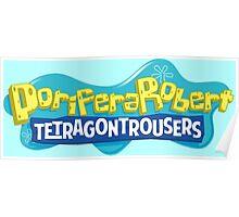 PoriferaRobert TetragonTrousers Poster