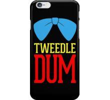 Tweedle dee and tweedle dum. iPhone Case/Skin