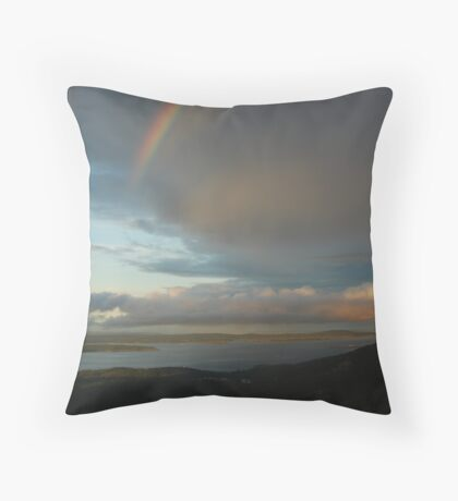 Acadia Rainbow Throw Pillow