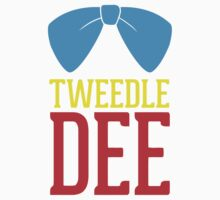 FUnny Tweedle Dee - Tweedle Dum for couples Kids Clothes