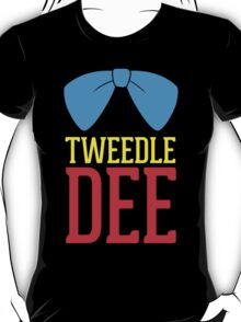 FUnny Tweedle Dee - Tweedle Dum for couples T-Shirt