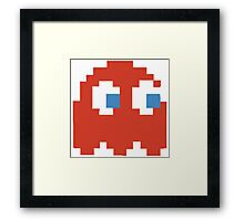 Red Ghost Framed Print