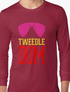 Tweedle Dee Tweedle Dum Costume Long Sleeve T-Shirt