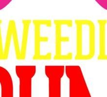 Tweedle Dee Tweedle Dum Costume Sticker