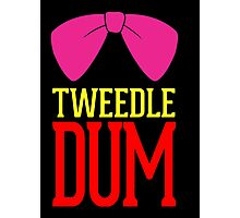 Tweedle Dee Tweedle Dum Costume Photographic Print