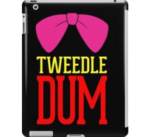 Tweedle Dee Tweedle Dum Costume iPad Case/Skin