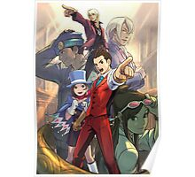 Apollo Justice poster Ace Attorney Poster