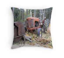 Massey 333,and Buzz Saw Throw Pillow