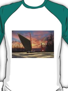Norfolk Wherry and Windmill, Norfolk Broads - all products T-Shirt