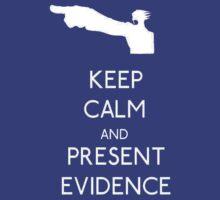 Keep Calm Phoenix Wright T-Shirt Ace Attorney T-Shirt