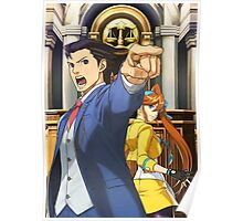Phoenix Wright poster Poster