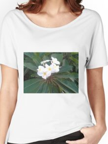 Plumeria Women's Relaxed Fit T-Shirt