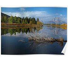 Oxbow Reflections Poster