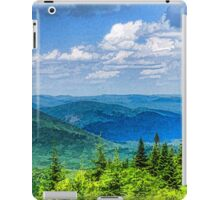 Just Breathe Deeply - Impressions of Mountains iPad Case/Skin