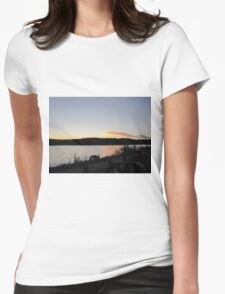 Sunset, South Carolina Seashore Womens Fitted T-Shirt