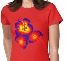 Fire Flower Womens Fitted T-Shirt