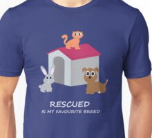 Cats and Dogs Rescue Unisex T-Shirt