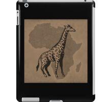 Giraffe and Africa iPad Case/Skin