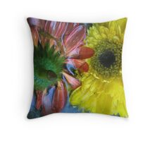 Watery Colours Throw Pillow
