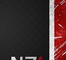 Mass Effect N7 armor-style by MrGreed