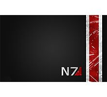 Mass Effect N7 armor-style Photographic Print