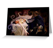 Sleeping Beauty Awakened Greeting Card