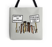 Sorry for the Inconvenience...  (I Can't Breathe) Tote Bag