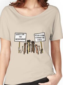 Sorry for the Inconvenience...  (I Can't Breathe) Women's Relaxed Fit T-Shirt