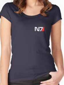 N7 Mass Effect Women's Fitted Scoop T-Shirt