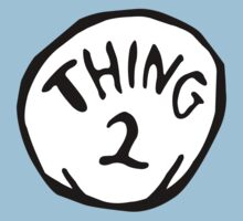 Thing one, thing two. Funny for couples Kids Clothes