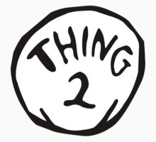 Thing one, thing two. Funny for couples Kids Tee