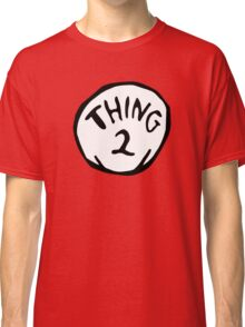 Thing one, thing two. Funny for couples Classic T-Shirt