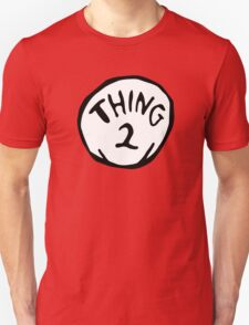 Thing one, thing two. Funny for couples Unisex T-Shirt
