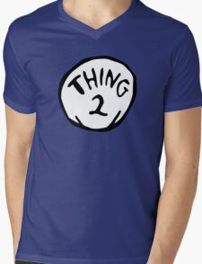 Thing one, thing two. Funny for couples Mens V-Neck T-Shirt